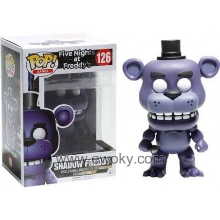 Five Night At Freddy/'s Foxy Bobbie Game Doll 6 PCS Action Figure Cake Topper Toy
