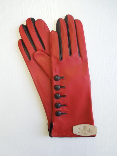 70a80745ece Dámské rukavice 20117 s knoflíčky