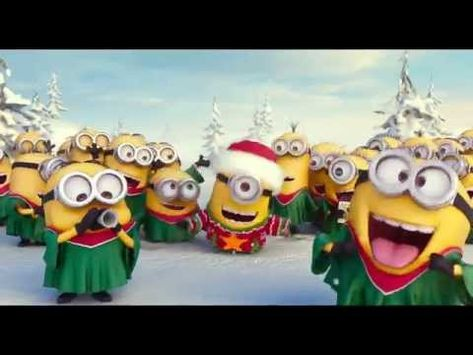 Nội dung: Minions Singing Jingle Bell Merry Christmas! Full ...