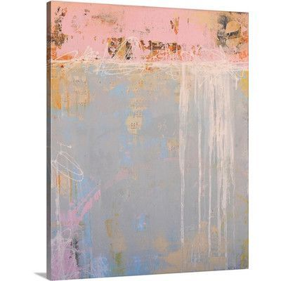Wrought Studio 'Love Notes' by Erin Ashley Painting Print on Canvas