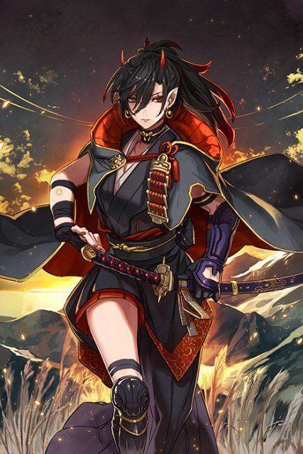 Guerreira Anime Warrior Anime Art Girl Character Art