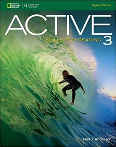 Pdf 3cd Active 3 Skills For Reading 3rd Edition Tiếng Anh Hinh Cac Cặp đoi