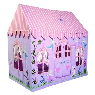Girl Tents Fairy] Fairy Cottage Playhouse Tent Girls Playhouse ...