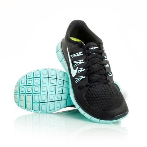 reputable site 0e451 67fd0 Nike Free 5.0+ - Womens Running Shoes - Black Teal