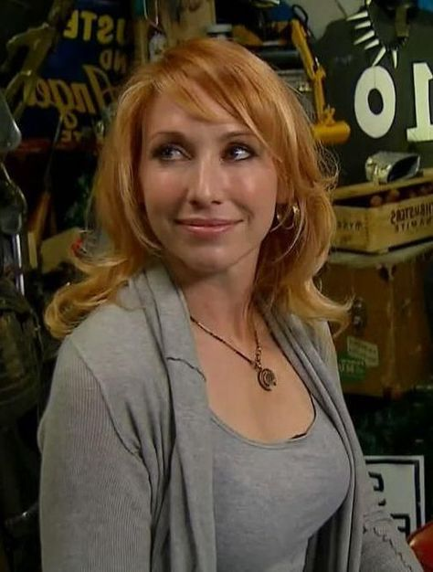 Sexy Elizabeth Kari Byron Discovery Channel MythBusters White Rabbit Project Hot Celebrity RedHead