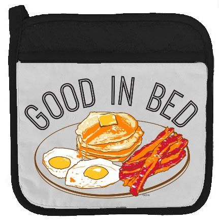Twisted Wares 9 Potholder Good in Bed