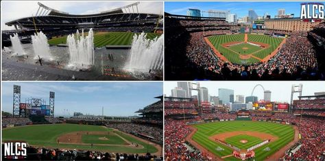 After two full days without baseball, these gorgeous venues will be a sight for sore eyes. #postseason