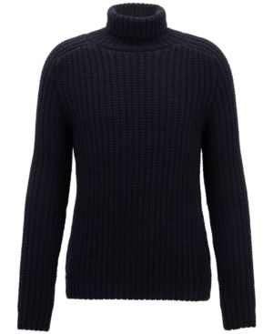 15ff2690d88 BOSS Men's Cashmere Turtleneck Sweater in 2019 | Products | Cashmere ...