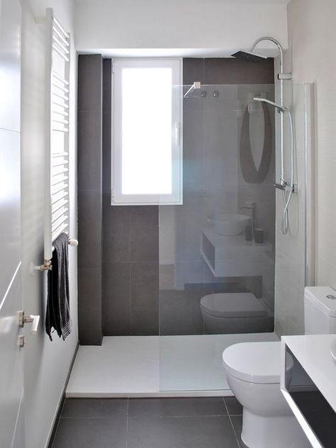 73 ideas de decoración para baños modernos pequeños 2019   nueva ...