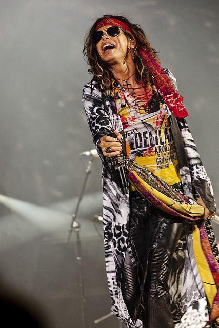 Aerosmith (Steven Tyler)   12 juillet 2012   Scène Bell des plaines d'Abraham   Crédit : Renaud Philippe