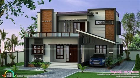 25 Lakhs Cost Estimated Double Storied Home Kerala Home In 2021 Kerala House Design Modern Exterior House Designs Duplex House Design