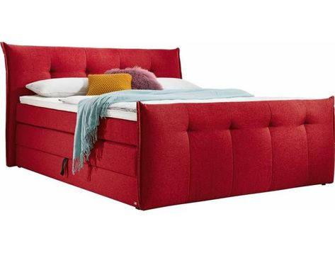 Set One By Musterring Box Spring Bed Florida With Bed Box In 5 Li Bed Box Florida Musterring Set Spring In 2020 Box Spring Bed Decor Bed Springs