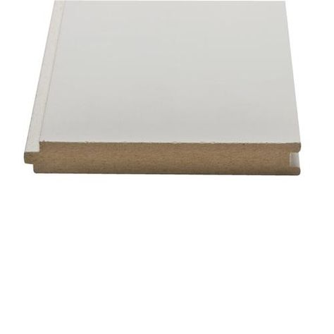 1 X 6 Nickel Gap Tongue And Groove Primed Mdf Board At Menards Tongue And Groove Menards Lumber