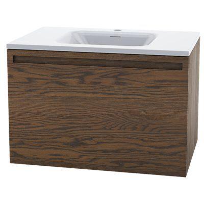 Wetstyle Element Raffine 30 Wall Mounted Single Bathroom Vanity