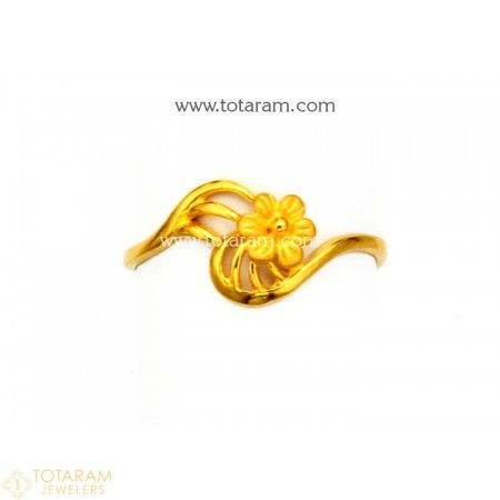 5beaced52 22K Gold Ring For Women - 235-GR5296 - Buy this Latest Indian Gold Jewelry  Design in 1.550 Grams for a low price of $99.20