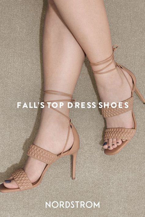 Find your perfect pair, from chunky block heels to strappy sandals, we have what you need for all your fall events.