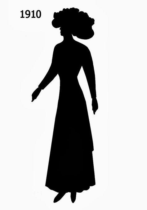 fashion silhouette description - 474×677