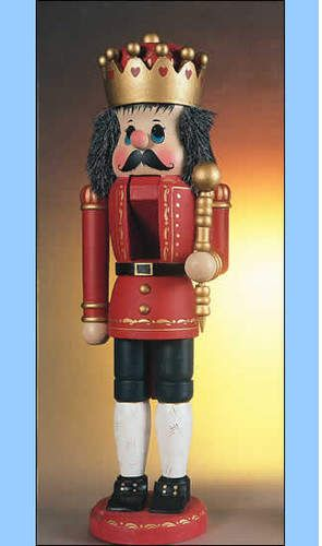 The Whitehurst Company, LLC Heirloom Collectible Nutcrackers by Zim's Red King