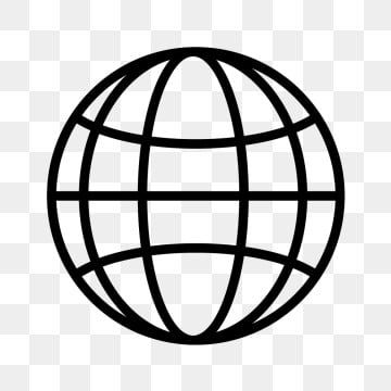 Globe Icons Globe Internet Illustration Sign Symbol Graphic Line Linear Outline Flat Glyph Png Environment Day Pattern W Globe Icon Globe Logo Geometric Vector