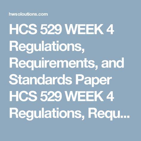 HCS 529 WEEK 3 Needs Assessment Review HCS 529 WEEK 3 Needs - needs assessment