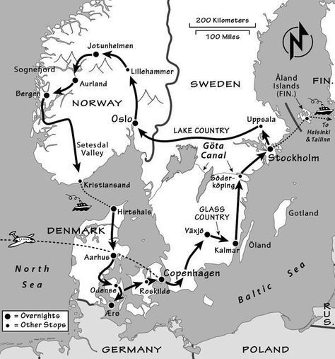 Countries Of Scandinavia And The Nordic Region Scandinavian Countries Scandinavia Scandinavian