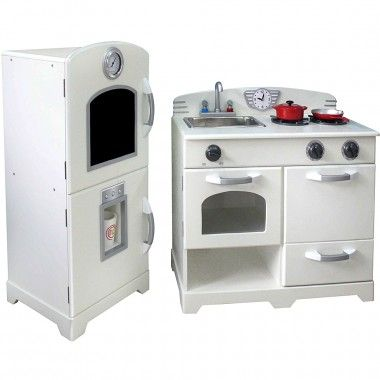 Teamson Lily Cottage Kitchen   Wooden Play Kitchen Toys. This Childrenu0027s Toy  Kitchen Is Large Enough So A Few Children Can Play Together At The Samu2026