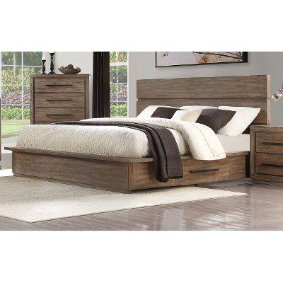Modern Rustic Pine California King Platform Bed Haven Rustic Bedroom Italian Bedroom Furniture Bedroom Design