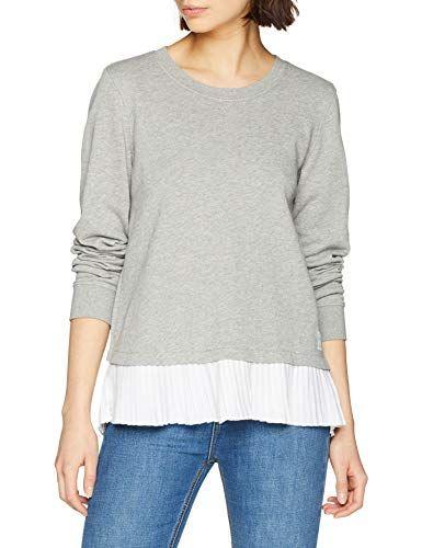 damen pullover marc opolo denim damen sweatshirt 940302354011 grau  stone melange  marc opolo denim damen sweatshirt