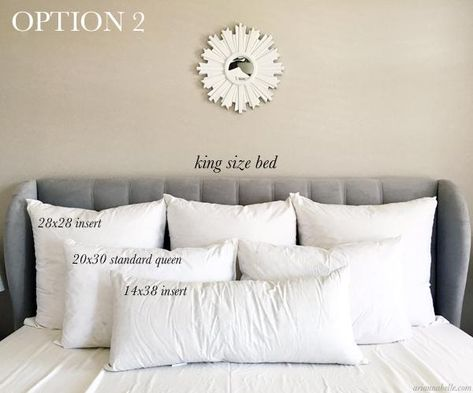 King Size Decorative Pillows