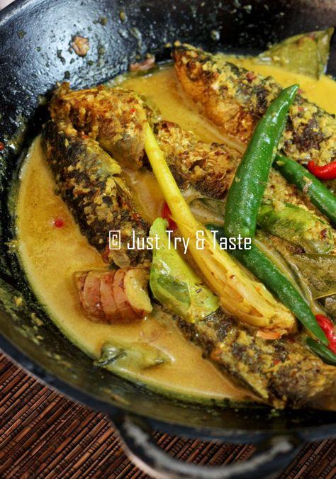 Ikan Belanak Masak Lemak Resep Ikan Makan Malam Resep Seafood