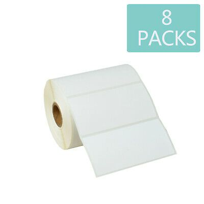 "2 Rolls Direct Thermal Labels 4/"" X 6/"" Compatible w// Zebra//Eltron printers 500pcs"