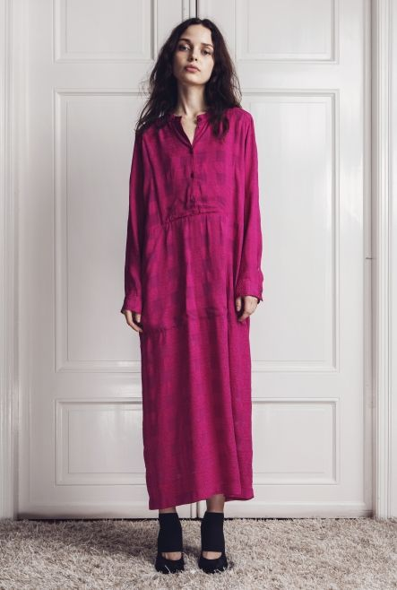 DRESS KOLLUM WINDOW CHECK FUCHSIA | More colors + in the group New ...
