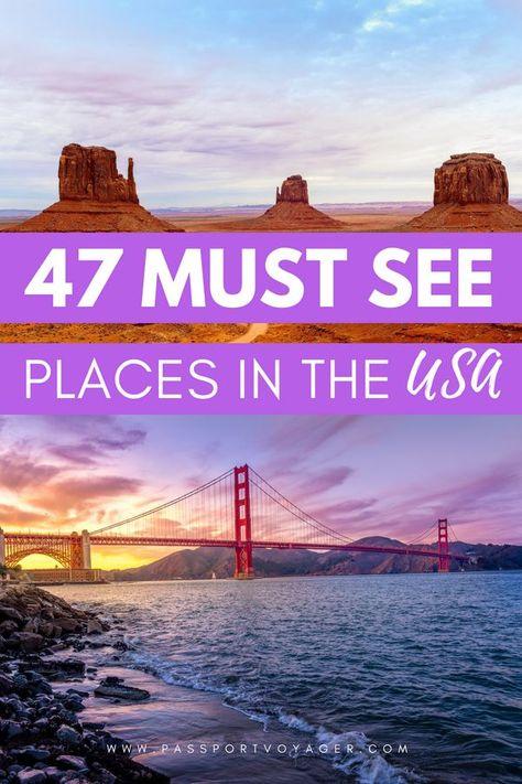 The Ultimate USA Travel Bucket List - Passport Voyager