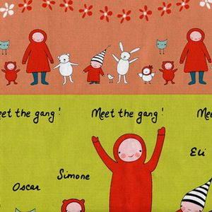this stuff is too stinking cute!  Creative Thursday - Meet the Gang - Meet the Gang in Pink