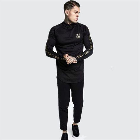 Hip Hop Gyms T-shirt - Black / L(60-65kg)