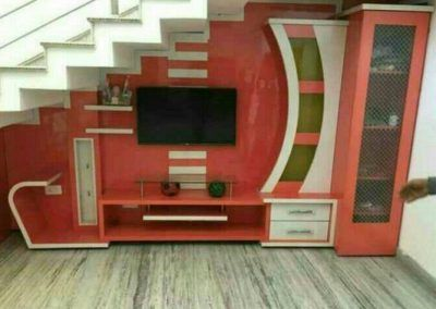Railing Space Covered Modern Tv Wall Units Wall Tv Unit Design
