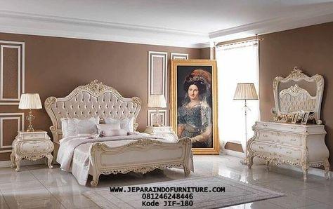 tempat tidur rafina terbaru mewah   set kamar tidur utama