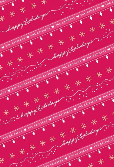 gift wrap - Candy Cane Ribbon