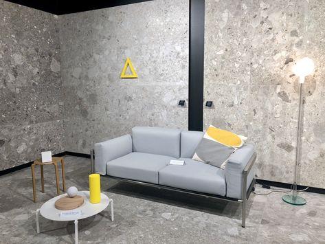 Carrelage Imitation Granite Gris Nouveaute Pour 2019 Au Salon Cersaie A Bologne Decoration Maison Carrelage Exterieur Idees De Decor