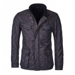 Men's Ariel Quilted jacket Black   Quilted jacket, Jackets