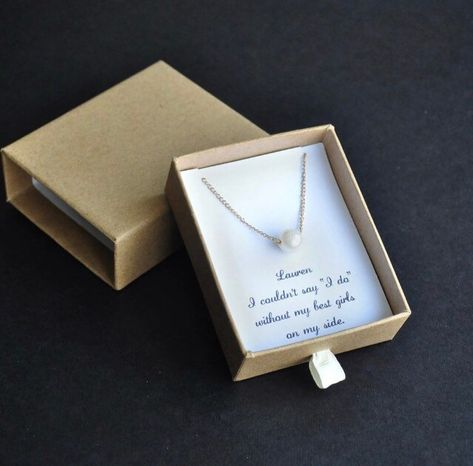 wedding party gifts Flower Girl Necklace flower girl gift bride jewelry