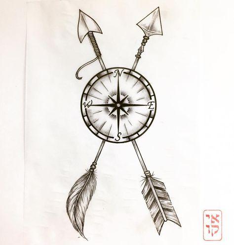 Mulpix Tattoo Tattoos Tatto Odesign Compass Arrow