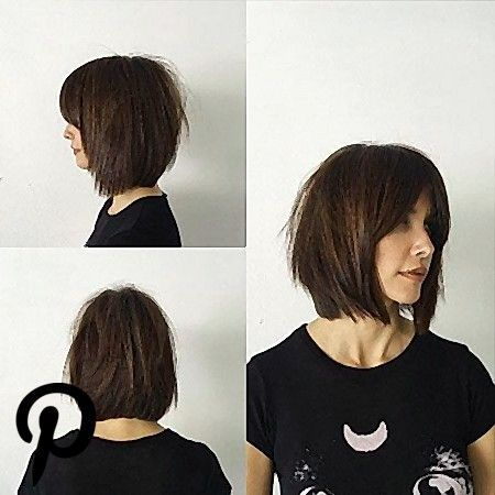 Curtain Bangs Short Hair Straight Curtainbangs Curtain Bangs Short Hair Strai Short Hair With Bangs Short Hair Styles For Round Faces Straight Hairstyles