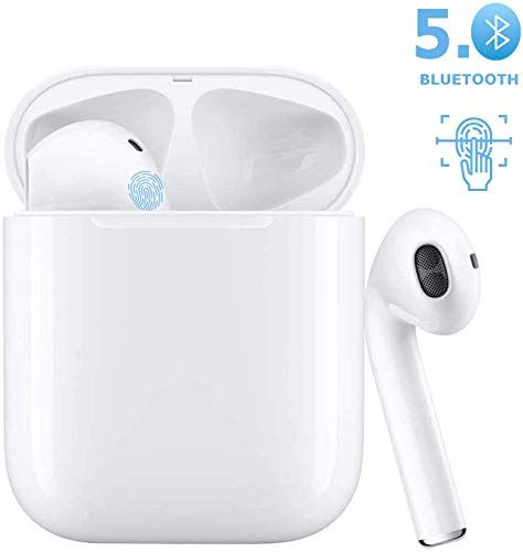 Enjoy Exclusive For Bluetooth Headset 5 0 In Ear Headphones Sports Headphones Smart Noise Reducing Stereo Bluetooth Headset Apple Airpods Android Iphone Samsung With Images Bluetooth Headset Sports Headphones Headphones
