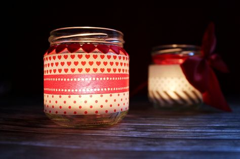 http://kathastrophal.de | Christmas Lights with Washi Tape