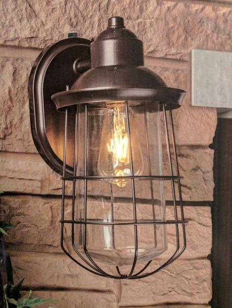 Manor House Vintage Style Led Coach Light Exterior Wall Light 520 Lumens Coach Lights Exterior Wall Light Light