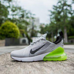 Mens Nike Air Max 270 World Cup Wolf Grey Black Green