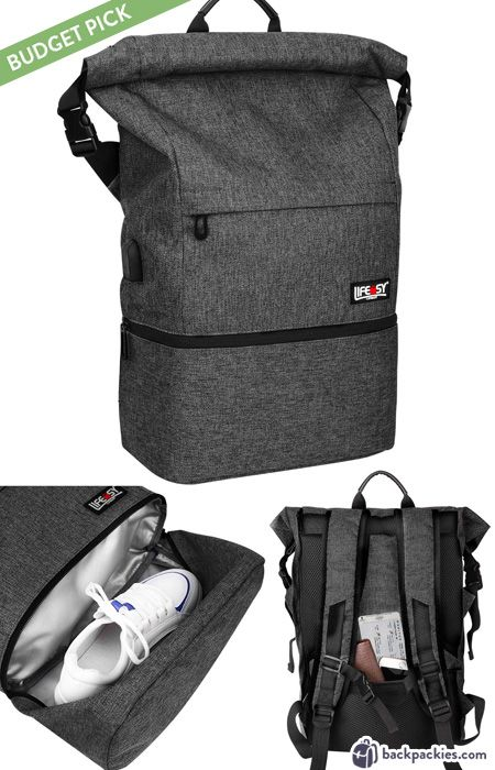 Best Backpacks With Shoe Compartments Top Work To Gym Bags Backpackies Shoe Compartment Backpacks Cool Backpacks