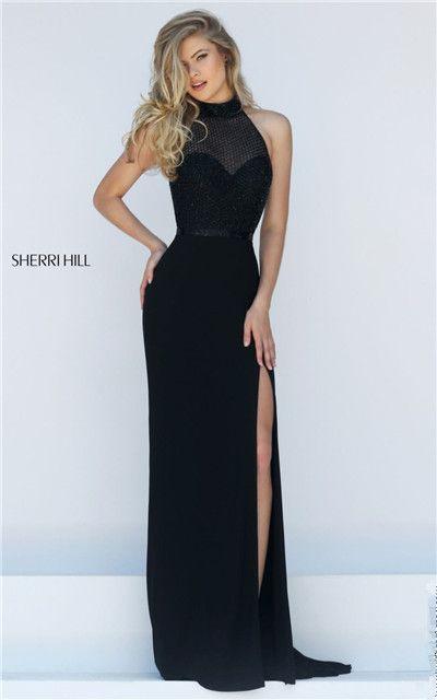 Black long dress cheap