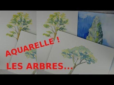 Comment Peindre Un Arbre A L Aquarelle Vous Etes En Pleine Phase